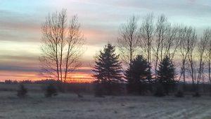 DWJ sunset