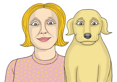 Have you noticed that some people and their pets share a resemblance?
